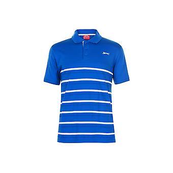 Slazenger Jaquard Polo Shirt Mens