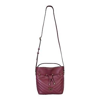 Tory Burch 73561609 Women's Burgundy Leather Shoulder Bag