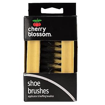 Cherry Blossom Shoe Brush Set (Pack of 2)