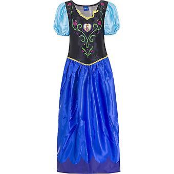 Disney frosne anna jenter kle kostyme 9-10 år