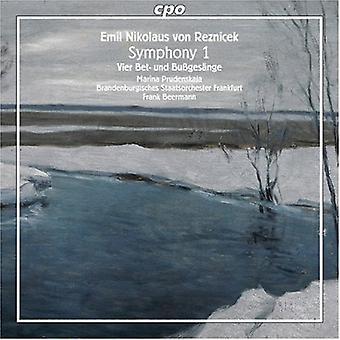 E.N.V. Reznicek - Reznicek: Symphony 1; Vier Bet- Und Buss [CD] USA import