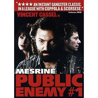 Mesrine-Pt. 2-Public Enemy #1 [DVD] USA import