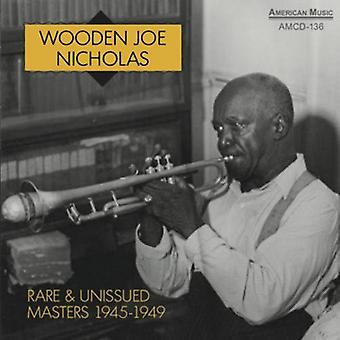 木製ジョー ニコラス ・ レア ・ Unissue マスター [CD] 1945-1949 年のアメリカのインポートします。