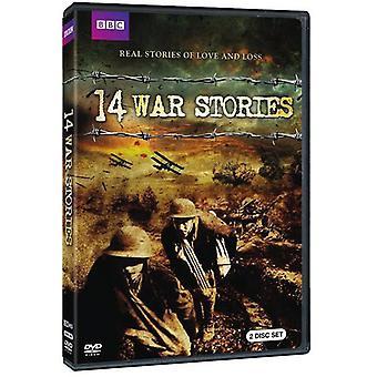 14 War Stories [DVD] USA import