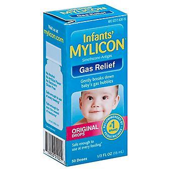 Mylicon spädbarn gasrelief, ursprungliga droppar, 0,5 oz *