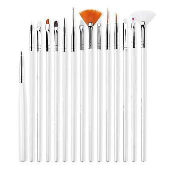 Manicure Gel Brush For Nail Art, Gradient, Gel Nail Polish Painting Drawing