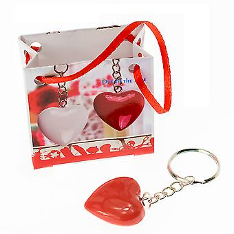 Little Heart Keyring - Cracker Filler Gift