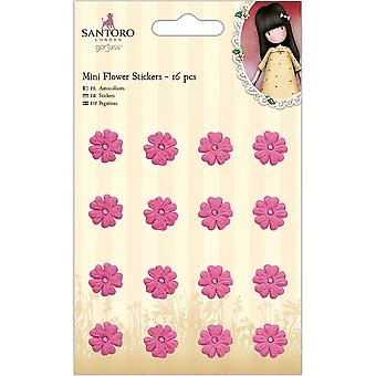 Gorjuss Mini Flower Stickers (16pcs) (GOR 804105)