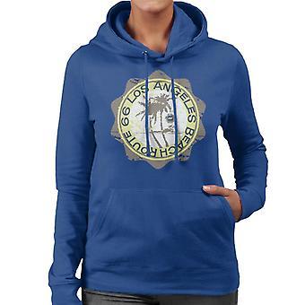 Route 66 Los Angeles Beach Women's Hooded Sweatshirt
