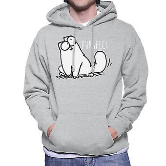 Simon's Cat Purrfect Men's Hooded Sweatshirt