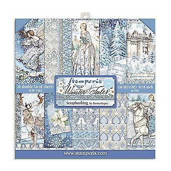 Stamperia Winter Tales 8x8 Inch Paper Pack