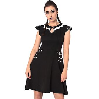 Banned Apparel Bell Tower Bat Dress