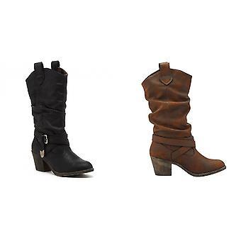 Rocket Dog mujeres/ señoras Sidestep Mid-Calf Western Boot