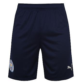 Puma Mens Manchester City Derde Shorts 2020 2021 Bottoms Binnenlandse Replica