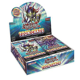 Yu-Gi-Oh! Toon Chaos Booster Box Unlimited Reprint (24 Packs)