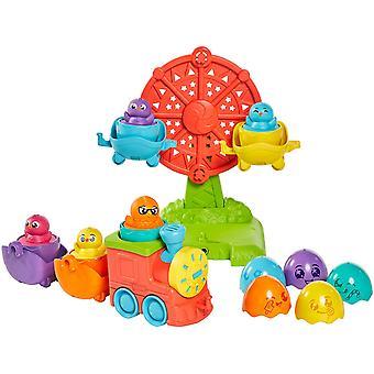 TOMY Toomies Hide and Squeak 2 in 1 Eggventure Train