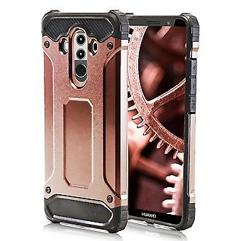Shell pour Huawei Mate 10 Pro - Pink Gold Armor Hard Protection Case