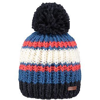 Barts Dillen Bobble Hat in Blue