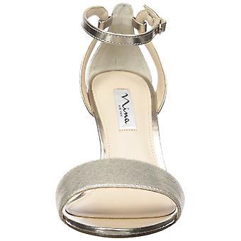 Nina Womens Venetia Open teen formele enkel riem sandalen