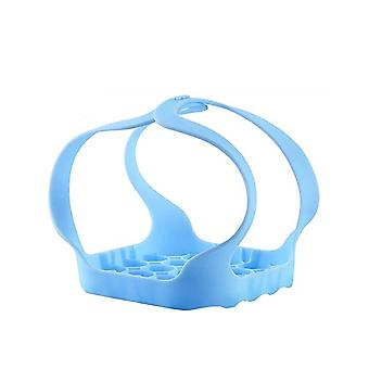 Silicone Pressure Cooker Bakeware Sling Blue 20x17cm
