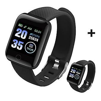 Men Smart Bracelet Heart Rate/blood Pressure Monitoring Tracker Waterproof