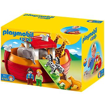 Playmobil 1.2.3 My Take Along Noah's Ark Playset