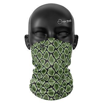 Schlange Hautfarben Snood Gesicht Maske Schal Neckerchief Kopf Abdeckung Tube Buff
