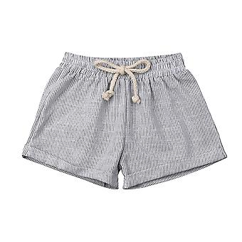 Kids Cotton & Line Harem Short Pants Newborn Baby Casual Trousers Leggings For Age 0-3t
