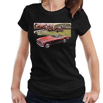 Austin Healey Sports Horses Jump British Motor Heritage Frauen's T-Shirt