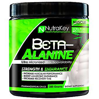 Nutrakey BETA ALANINE, Unflavored 300 grams