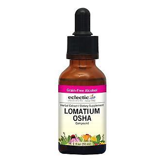 Eclectic Institute Inc Lomatium - Osha, 1 Oz alkoholin kanssa