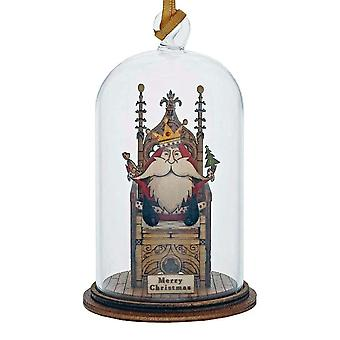 Kloche by Millbrook Gifts A King Is Born Hanging Ornament