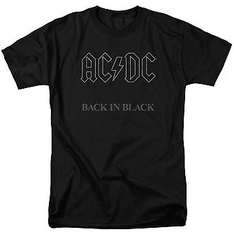 AC/DC Back In Black Adult T-shirt