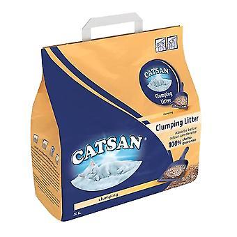 1 x 5Ltr Catsan Clumping Cat Kitten Litter Granules Pets Long Lasting Easy Clean