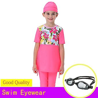 Muslim Swimsuit Burkinis Islamic Full Coverage Women Maillot De Bain Hijab