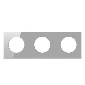 Vain kolminkertainen karkaistu lasipaneeli, pyöreä ympyrä