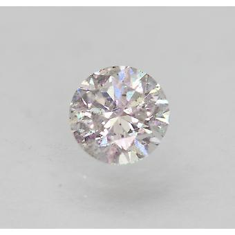 Zertifiziert 0.58 Karat G SI1 Runde Brilliant Enhanced Natural Loose Diamond 5.28mm
