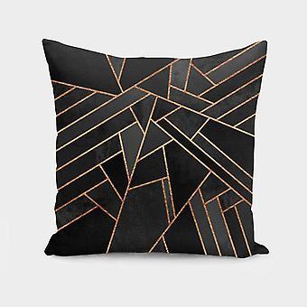 Black Night  Cushion Pillow Cover