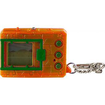 شفافة أورانج Digimon بانداي Digivice الظاهري الوحش الحيوانات الأليفة