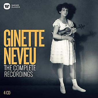 Complete Ginette Neveu [CD] USA import
