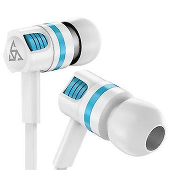 PTM T2 3.5mm In-Ear Wired Headset Super Bass Sport Handsfree Earphone
