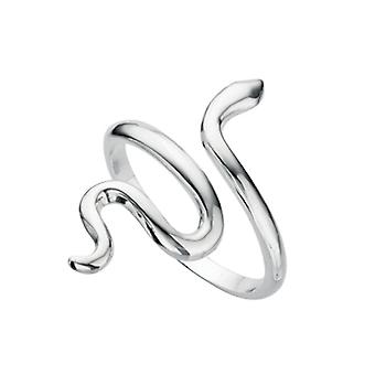 Elemente Silber Womens 925 Sterling Silber Schlange Ring