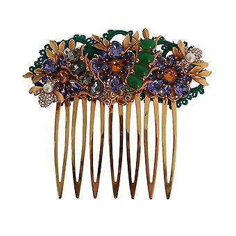 Dolce & Gabbana Gold Crystal Květinové Fly hřeben na vlasy