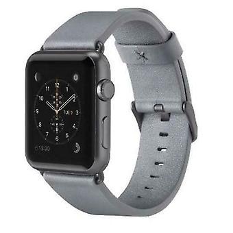 BELKIN Apple Watch (38mm) Wristband GRAY Classic Italian Leather - F8W731btC02