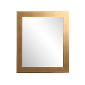 Brossé Gold Wall Mirror 32'' X 22''