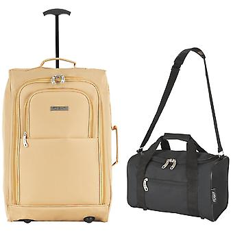 Pinel cabin suitcase 55x40x20cm & holdall 35x29x20cm