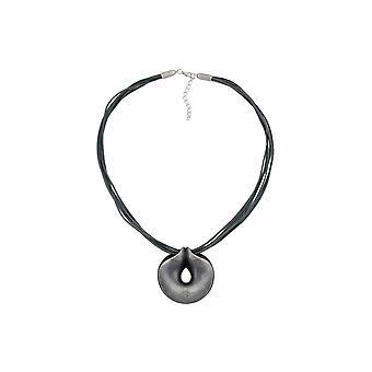Halsband Amulet Silver-antik 55cm