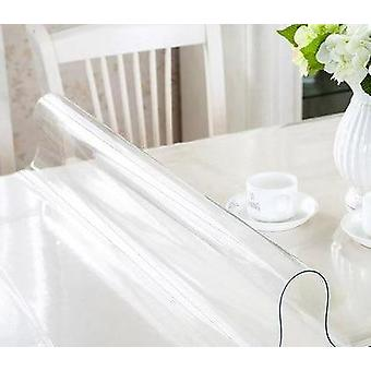 Nappe en verre souple Transparence Pvc Nappe -waterproof Oilproof Dining