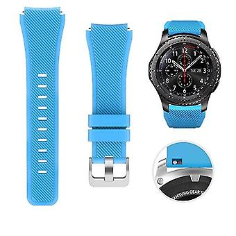 Silicone Band For Samsung Galaxy Watch & Sports Strap Frontier/classic Active 2