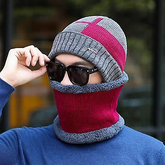 Lână tricotate de iarnă Eșarfă Pălărie / femei - Skullies Beanies iarna Cap